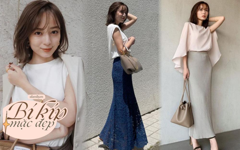 Blogger Nhật 42 tuổi cao 1m52: Chỉ mê chân váy dài, có một kiểu hack chân vi diệu rất đáng học theo