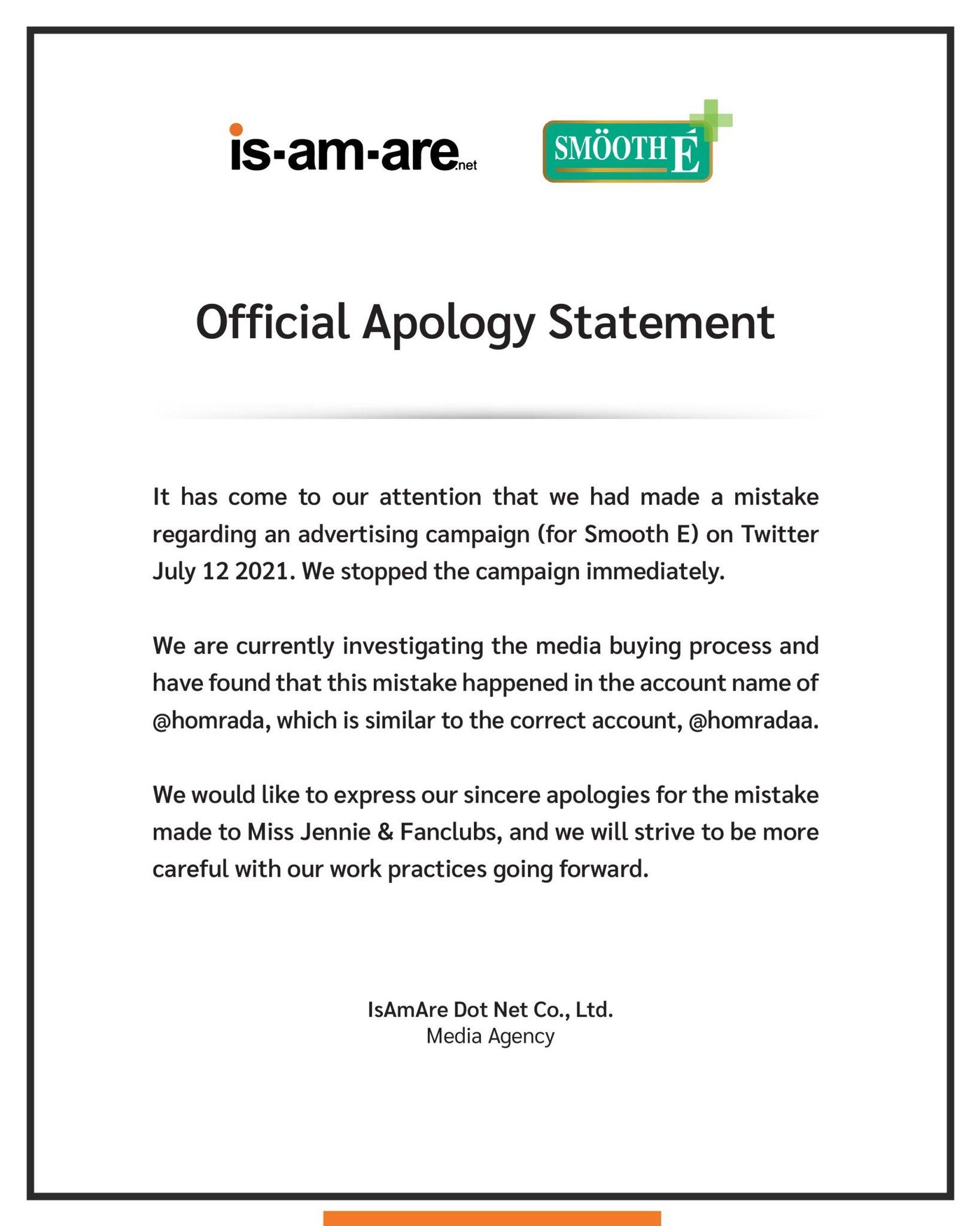 Phỉ báng Jennie, hãng mỹ phẩm Thái Lan phải lên tiếng xin lỗi cấp tốc trong đêm nhưng vẫn bị netizen kêu gọi tẩy chay - Ảnh 3.