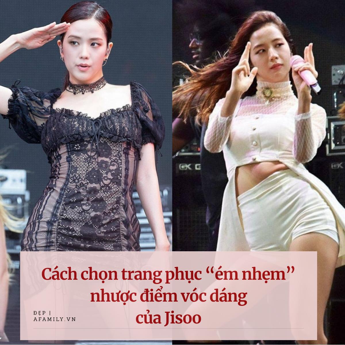"""Jisoo bị chê eo thô kém đẹp nhưng vẫn khéo chọn trang phục """"ém nhẹm"""" hiệu quả - Ảnh 1."""