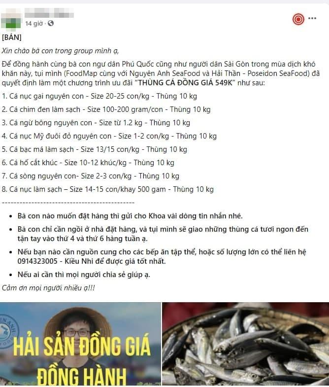 Gài Gòn tấp nập cảnh mua bán trên chợ online - Ảnh 1.