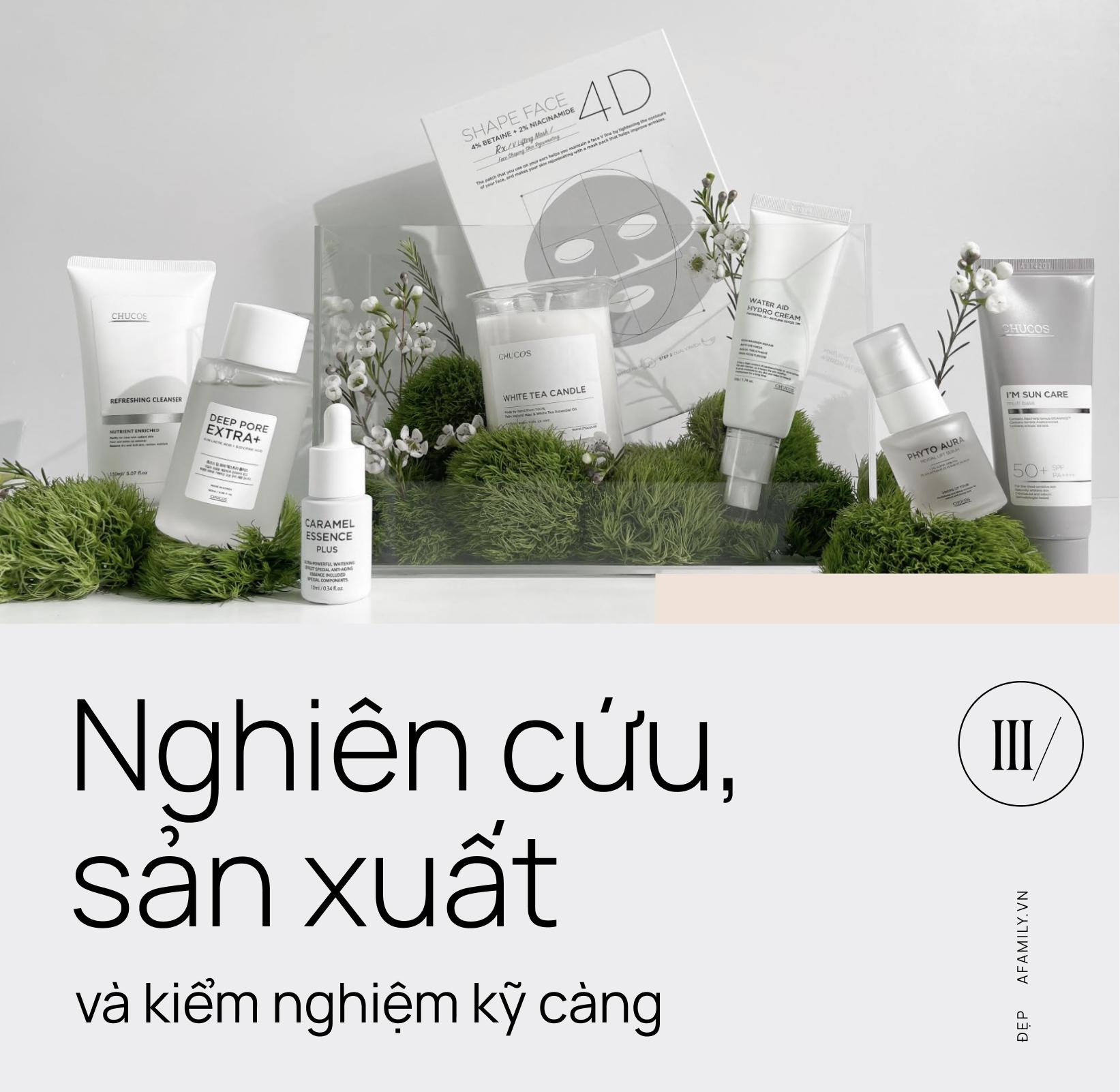 Chucos: Thương hiệu mỹ phẩm Việt không màu mè hoa lá nhưng khẳng định chất lượng từ bên trong - Ảnh 6.
