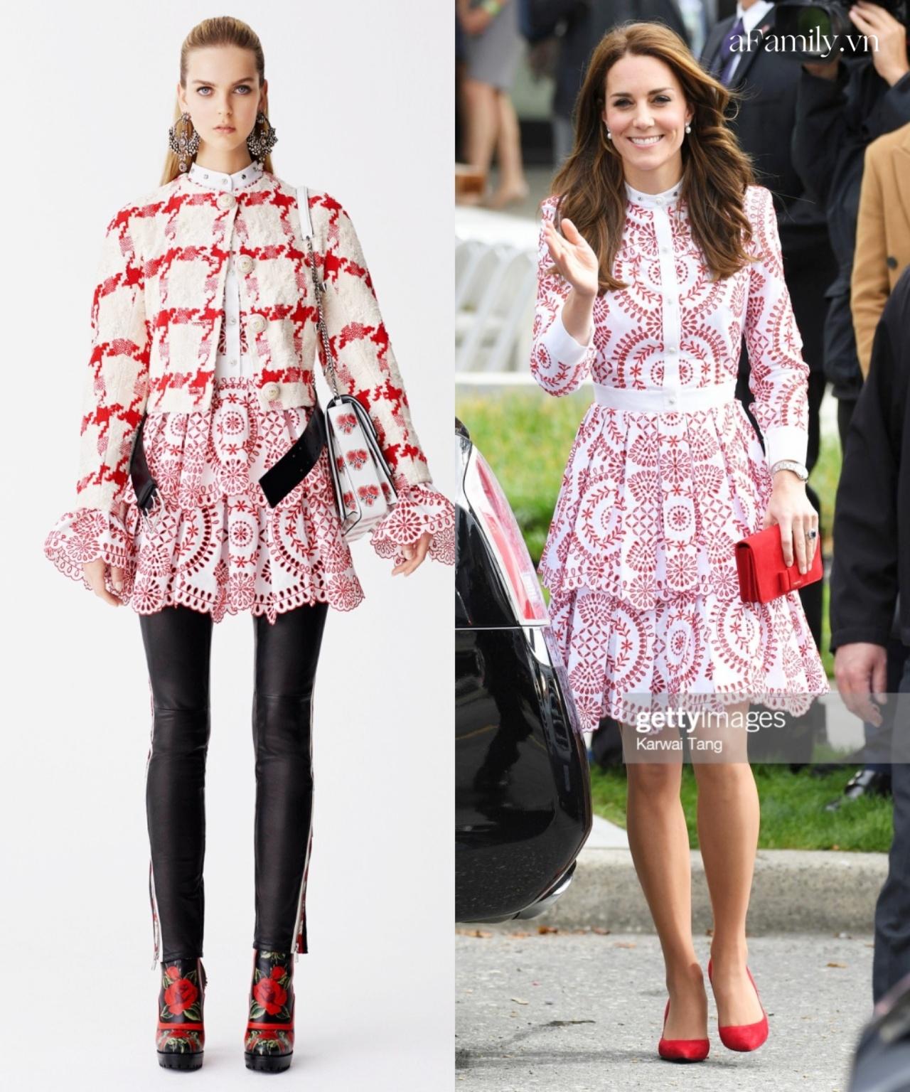 Đẳng cấp thời trang của Công nương Kate: Thanh lịch lấn át mẫu hãng, chứng minh khí chất hoàng gia hiếm ai bì kịp - Ảnh 2.