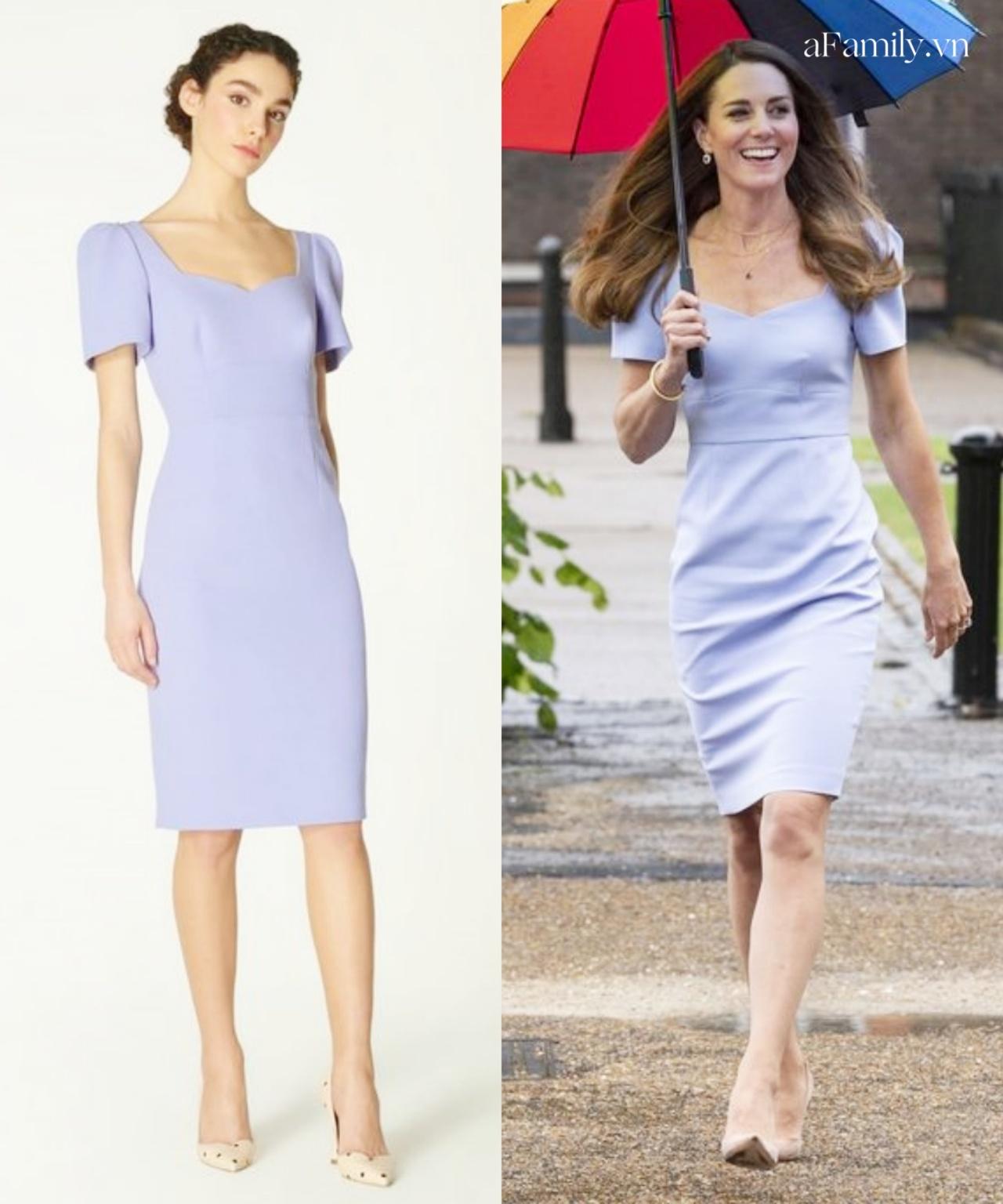 Đẳng cấp thời trang của Công nương Kate: Thanh lịch lấn át mẫu hãng, chứng minh khí chất hoàng gia hiếm ai bì kịp - Ảnh 5.