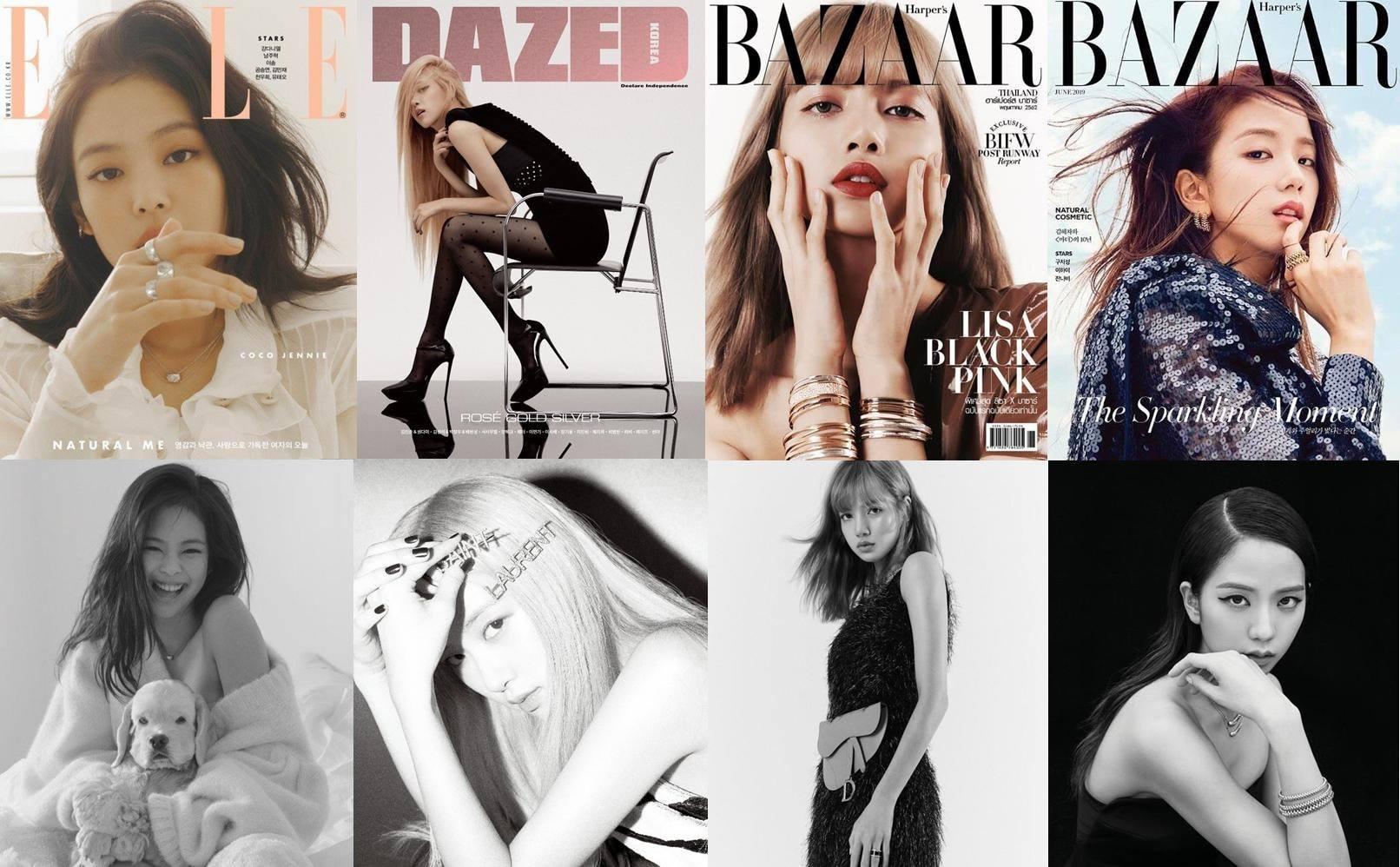 Khổ thân fan BLACKPINK: Idol không comeback nhưng vẫn tốn tiền, sắm tạp chí thời trang quanh năm mà không hết - Ảnh 3.