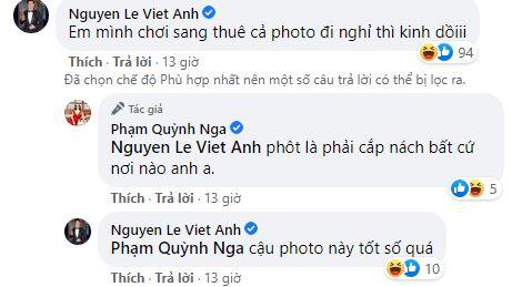 """Quỳnh Nga khoe body siêu nóng bỏng khi diện bikini, Việt Anh ngay lập tức """"bóng gió"""" điều này  - Ảnh 2."""