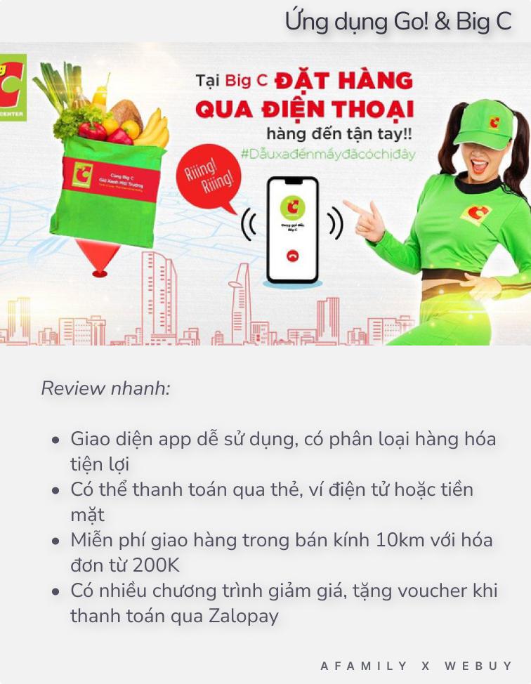 """Cập nhật tình hình loạt app đi chợ online Sài Gòn: Go! & Big C """"thất thủ"""", các ứng dụng còn lại ra sao? - Ảnh 3."""