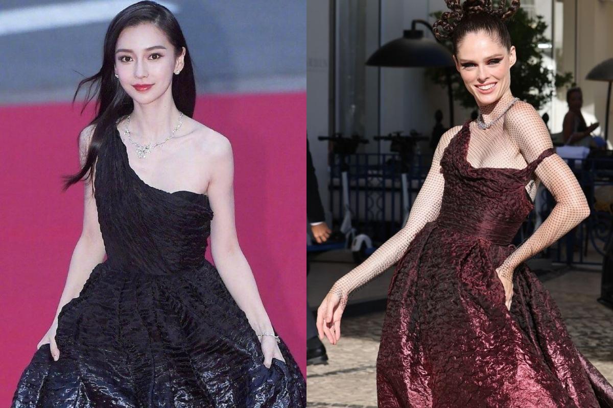 Angela Baby cũng có ngày lép vế khi diện đồ Dior, nhan sắc 10 điểm nhưng thần thái kém cạnh hẳn chị đại trên thảm đỏ Cannes - Ảnh 6.