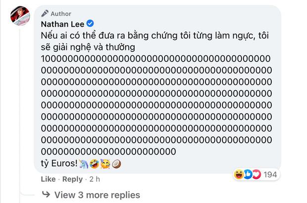 """Nathan Lee đáp trả Cao Thái Sơn: Ai tìm ra bằng chứng làm ngực thưởng tỷ Euro, mắng thẳng mặt """"ngu dốt"""" - Ảnh 2."""