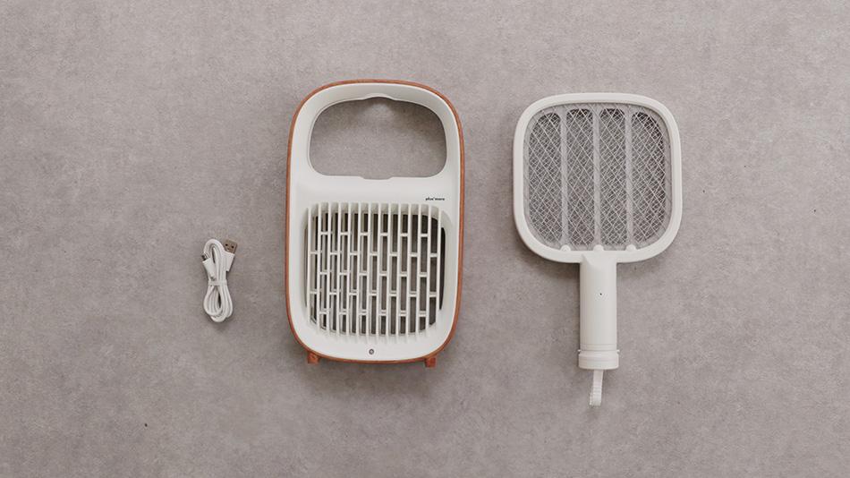 Hỗ trợ sạc USB dùng tới 30 phút, nhẹ và nhỏ tiện lợi đích thị là chiếc vợt bắt muỗi hiện đại nhất cho các gia đình - Ảnh 3.