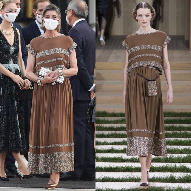 Con gái của Công nương Grace Kelly huyền thoại: Công chúa Hoàng gia Monaco 64 tuổi, chuyên mặc đồ Chanel sang hơn cả mẫu quốc tế - Ảnh 9.