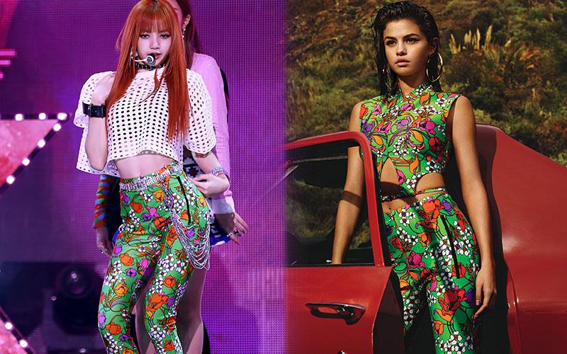 """Bao lần đụng hàng Selena Gomez, Lisa có khi lấn lướt nhưng cũng có lúc """"diện hàng hiệu như hàng chợ"""""""
