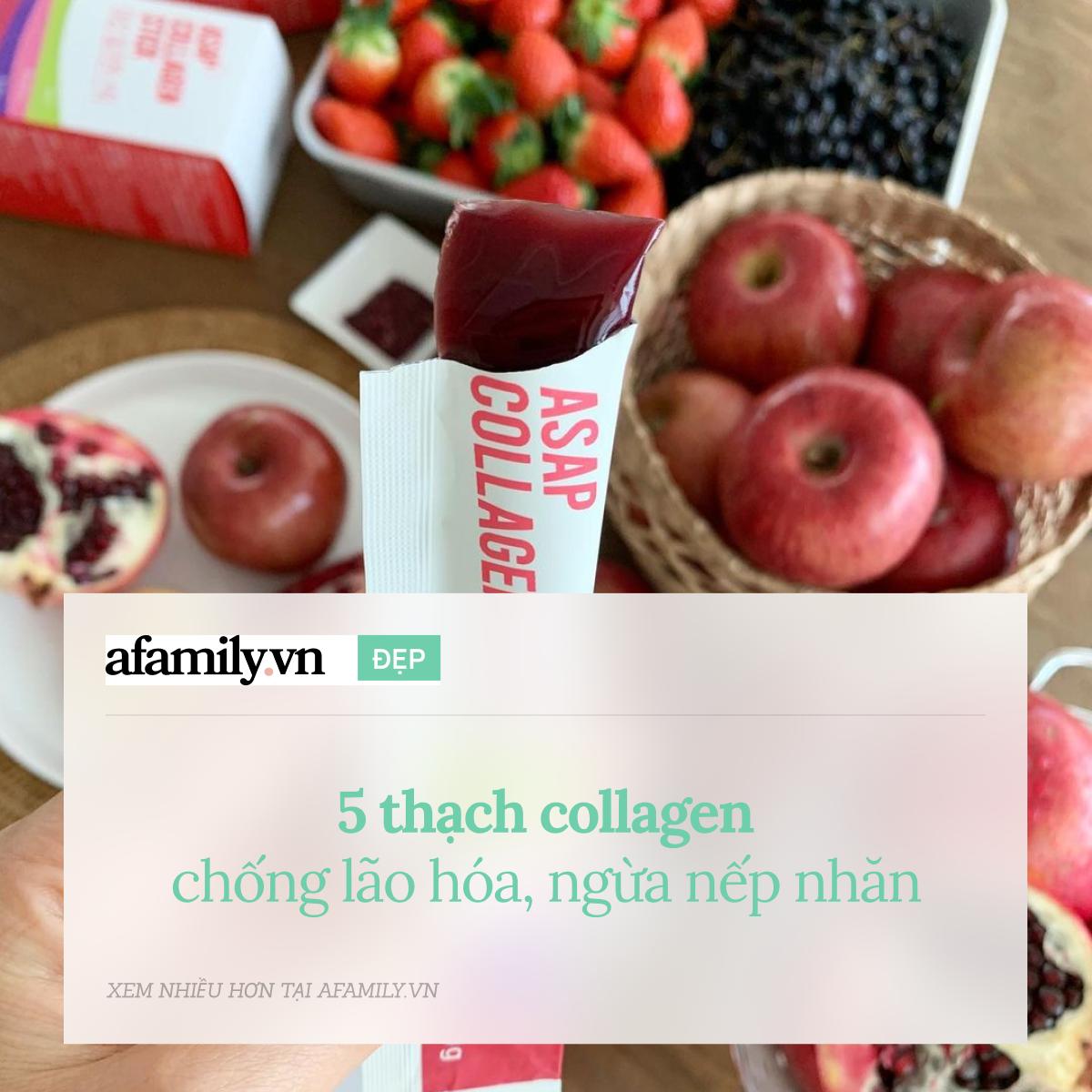 5 thạch collagen ngừa lão hóa tốt nhất, cho da căng mịn mướt mát - Ảnh 1.