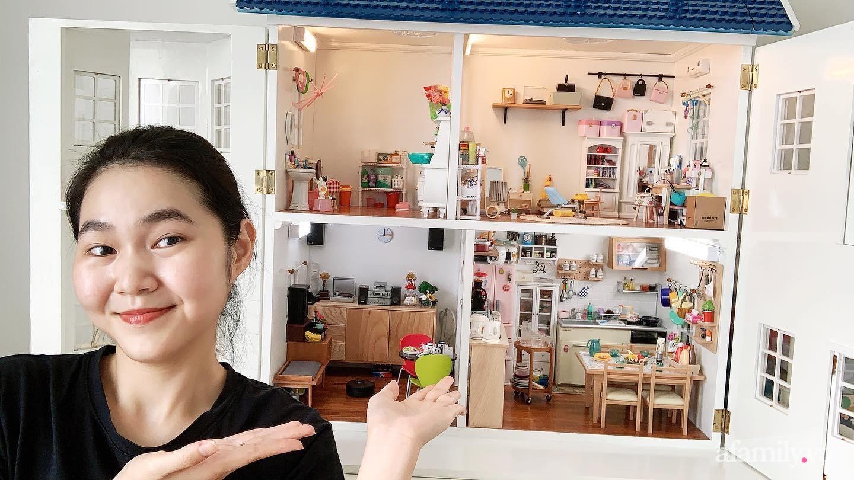 Nữ tiếp viên hàng không đam mê mô hình DIY đắt đỏ, 8 tháng sưu tầm để xây xong nhà đồ chơi giá 30 triệu - Ảnh 2.