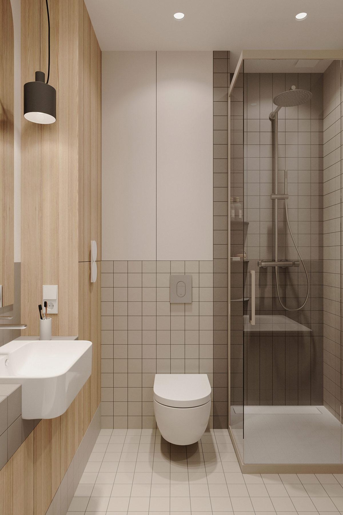 Tư vấn thiết kế căn hộ 69m² với tổng chi phí dưới 170 triệu với phong cách tối giản - Ảnh 11.