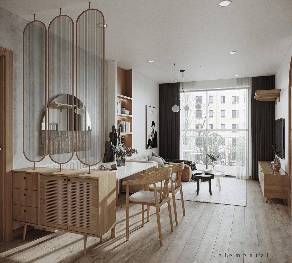 Tư vấn thiết kế căn hộ 69m² với tổng chi phí dưới 170 triệu với phong cách tối giản - Ảnh 4.