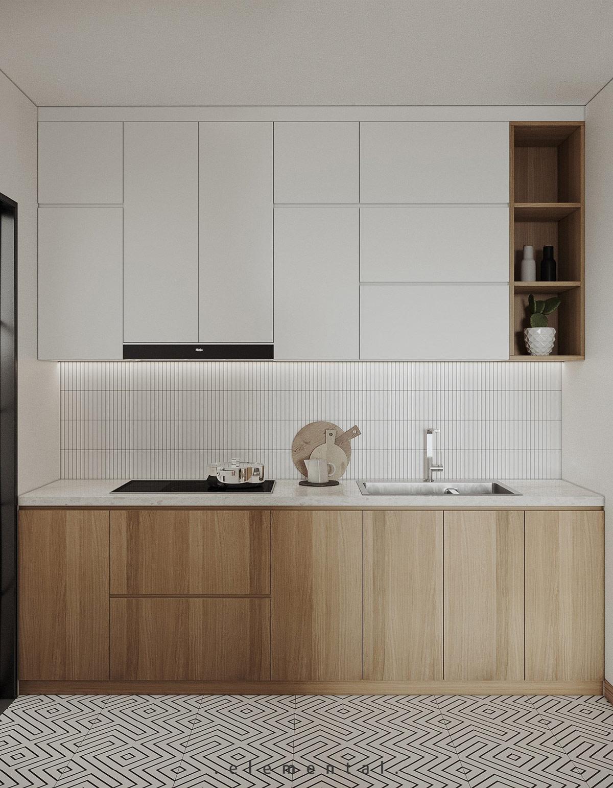 Tư vấn thiết kế căn hộ 69m² với tổng chi phí dưới 170 triệu với phong cách tối giản - Ảnh 5.