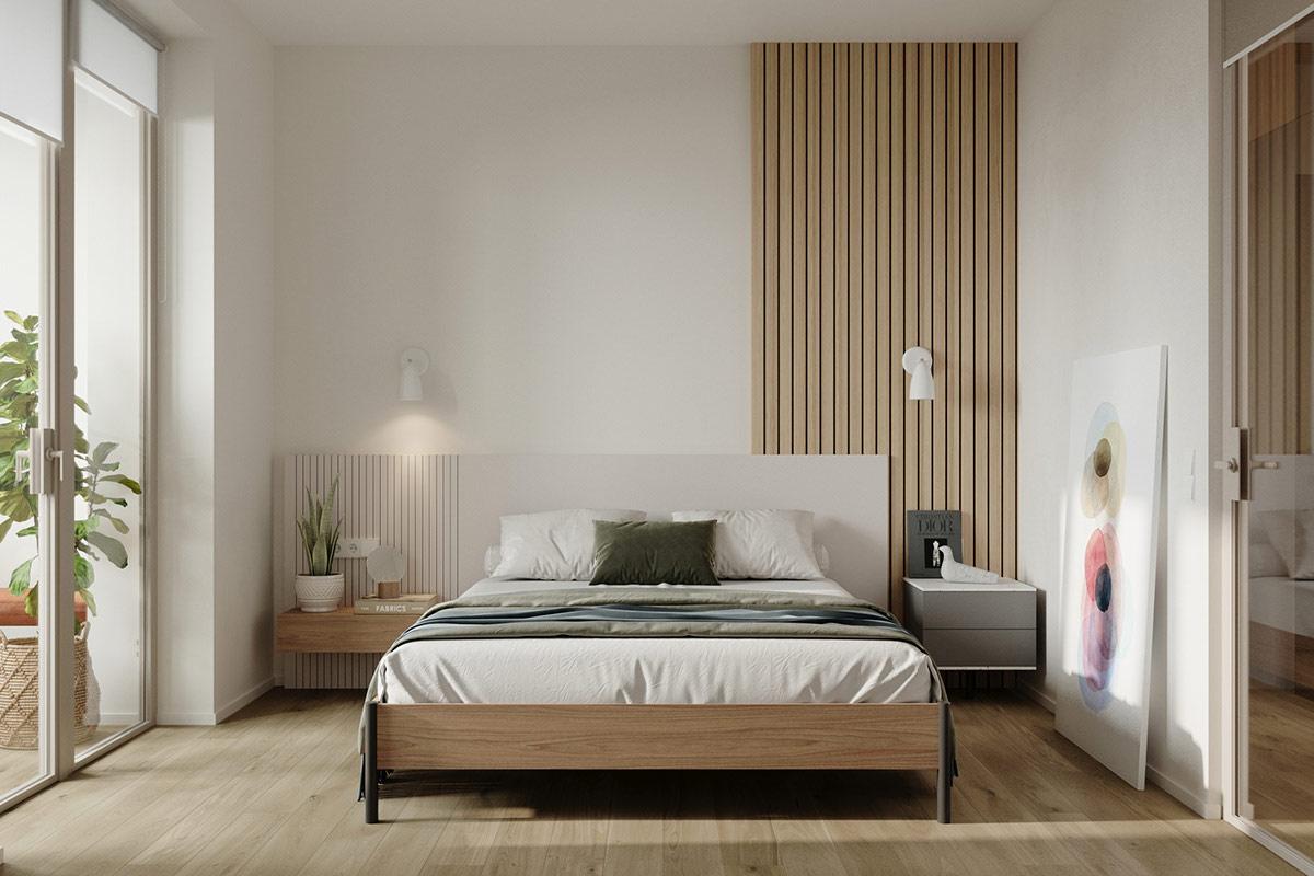 Tư vấn thiết kế căn hộ 69m² với tổng chi phí dưới 170 triệu với phong cách tối giản - Ảnh 6.