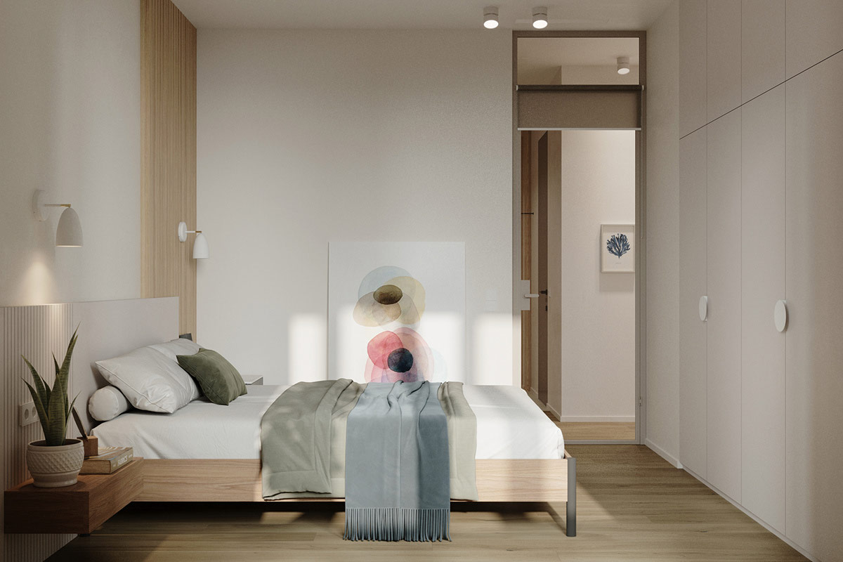 Tư vấn thiết kế căn hộ 69m² với tổng chi phí dưới 170 triệu với phong cách tối giản - Ảnh 7.