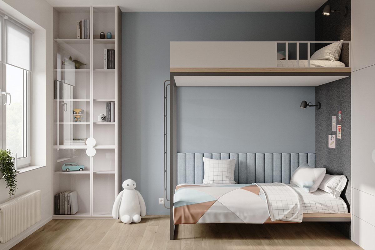 Tư vấn thiết kế căn hộ 69m² với tổng chi phí dưới 170 triệu với phong cách tối giản - Ảnh 9.