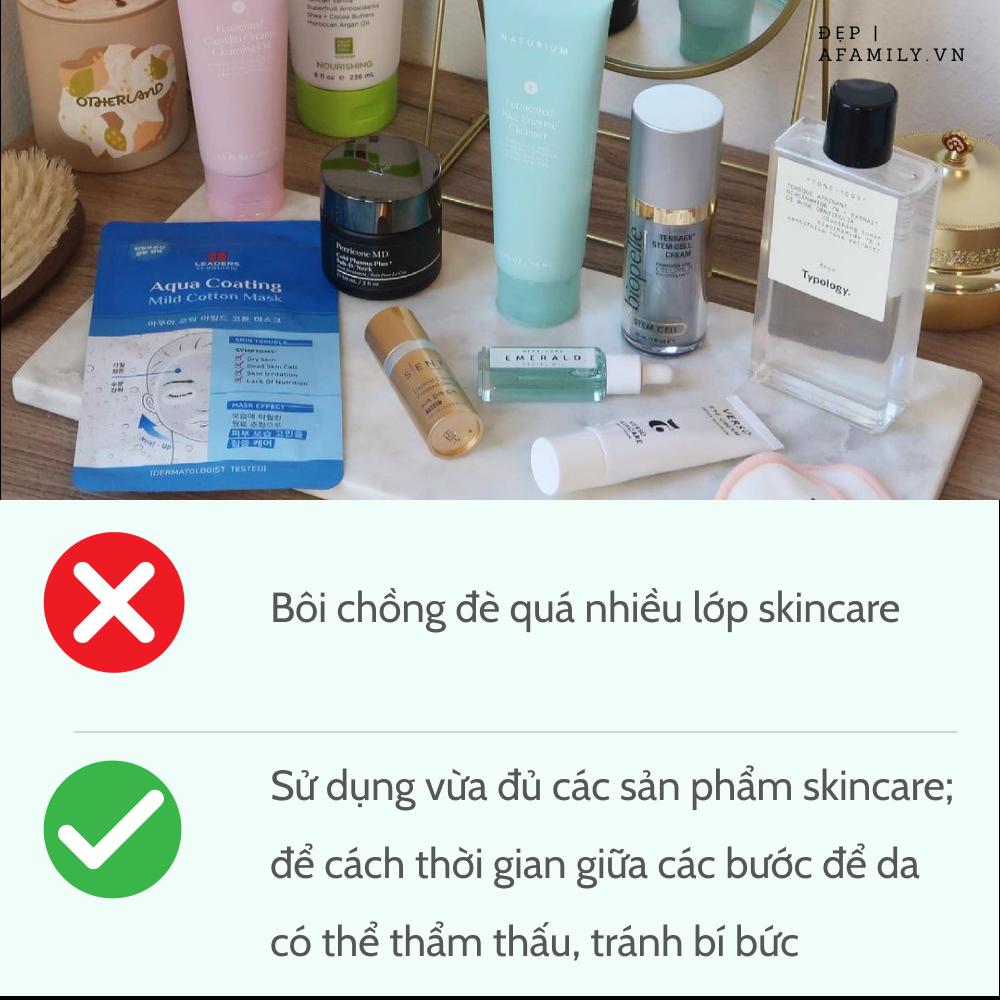 5 sai lầm khi chăm sóc da tại nhà khiến làn da lão hóa không phanh, lỗ chân lông rộng ngoác - Ảnh 6.