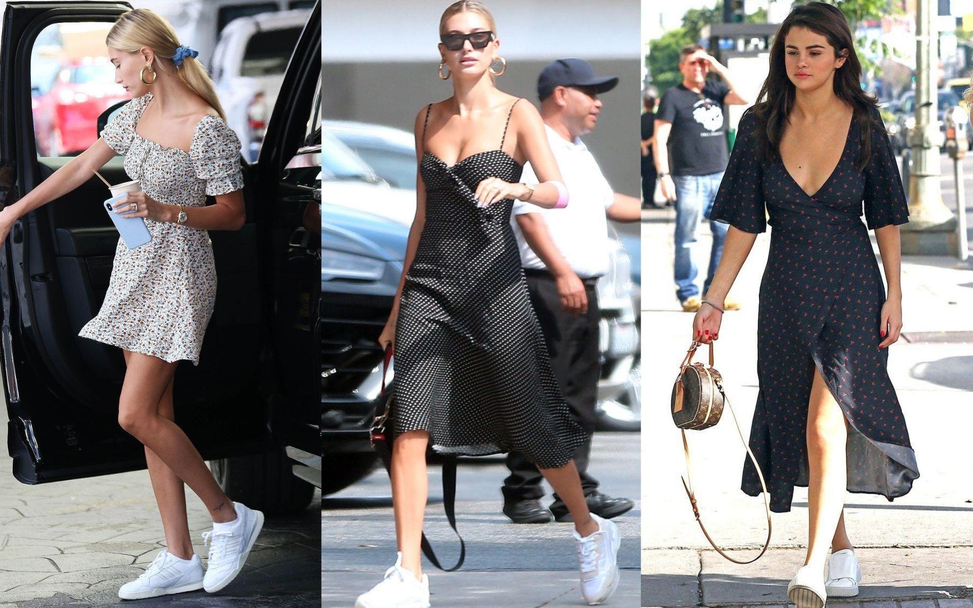 Vợ Justin Bieber có gu diện váy cứ hao hao Selena Gomez, nhưng chưa chắc đã xịn hơn