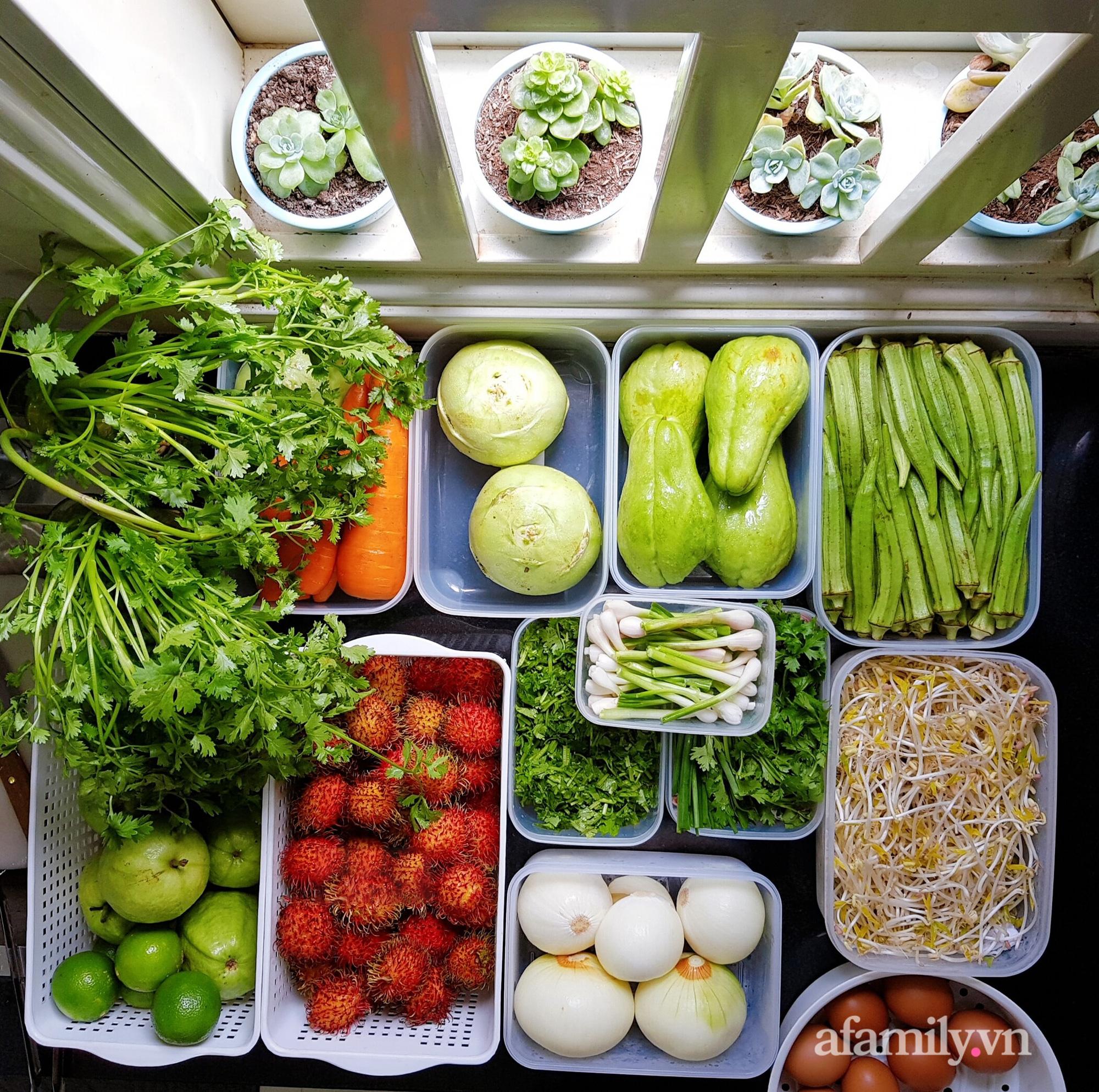 """Đi chợ mùa giãn cách ở Đồng Nai có gì khác qua lời kể của mẹ đảm """"thích trữ thực phẩm dài ngày"""" - Ảnh 2."""