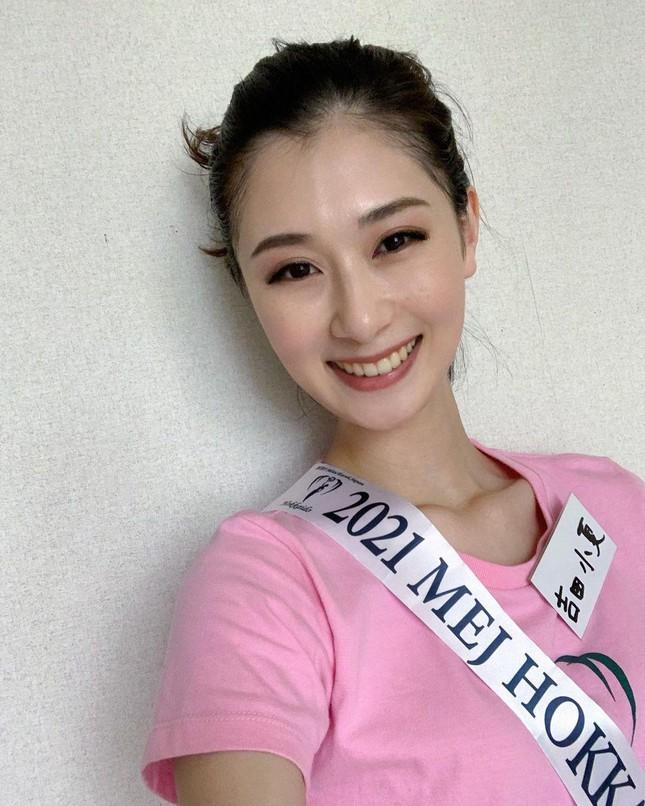 Nhan sắc bị chê nhạt nhòa của vũ công vừa đăng quang Hoa hậu Trái đất Nhật Bản - Ảnh 4.