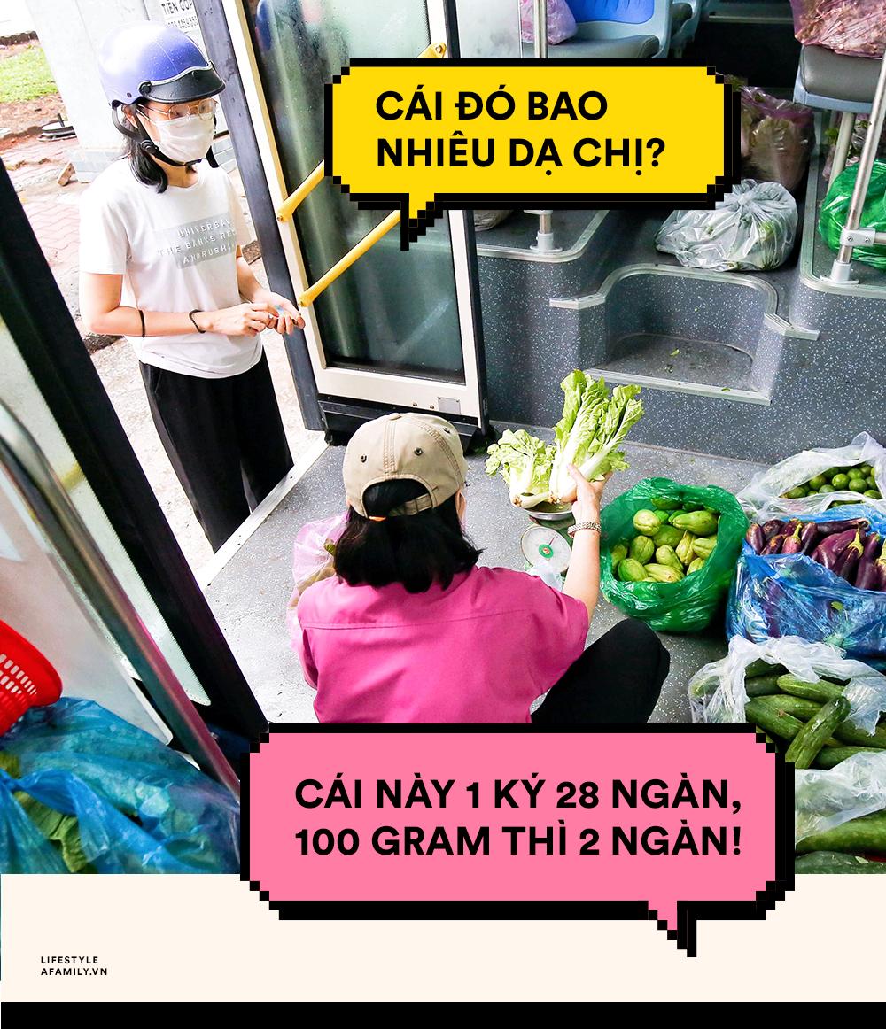 Người Sài Gòn lên xe buýt để... mua rau củ, thịt cá giá bình ổn, vẫn đảm bảo an toàn nhưng quan trọng là cái gì cũng tươi ngon! - Ảnh 3.
