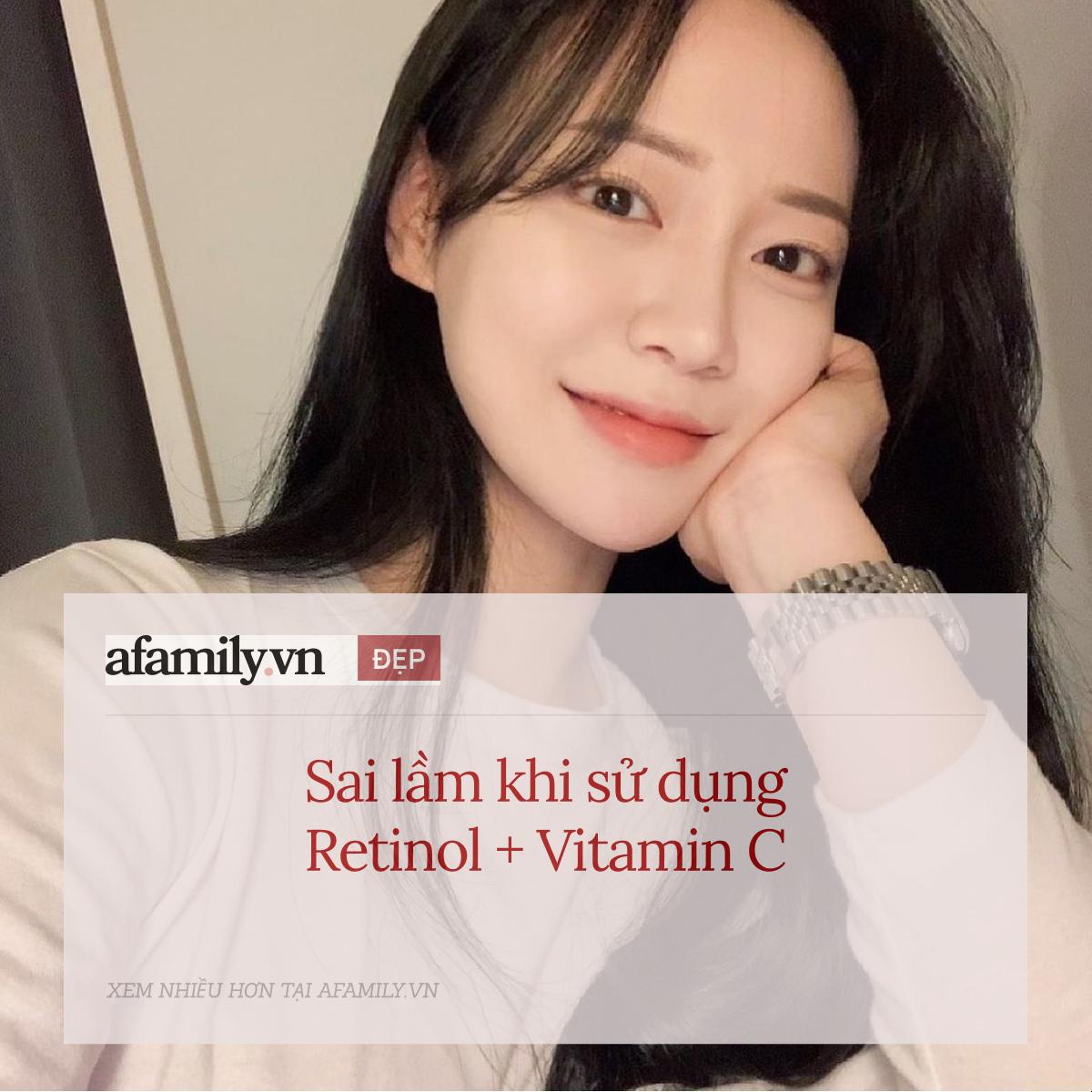 5 sai lầm khi sử dụng retinol và vitamin C khiến da sạm nám và lão hóa không phanh - Ảnh 2.