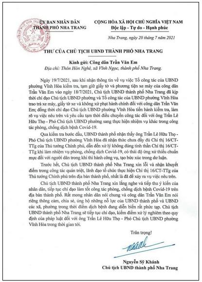 """Phó Chủ tịch phường đến chân công trường xin lỗi công nhân vụ """"Bánh mì không phải hàng thiết yếu"""" - Ảnh 1."""
