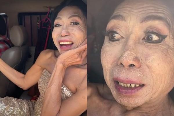 Thảm họa chuyển giới Thái Lan lộ diện trong show thực tế mới nhất, làn da nhìn khác hẳn hình ảnh mịn màng tự đăng lên trước đó - Ảnh 1.