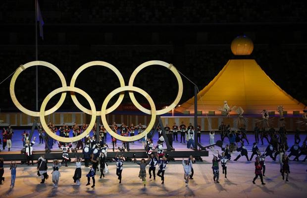 Lễ khai mạc Olympic Tokyo 2020: Rực rỡ sắc màu, đoàn thể thao Việt Nam xuất hiện tràn đầy nhiệt huyết - Ảnh 12.