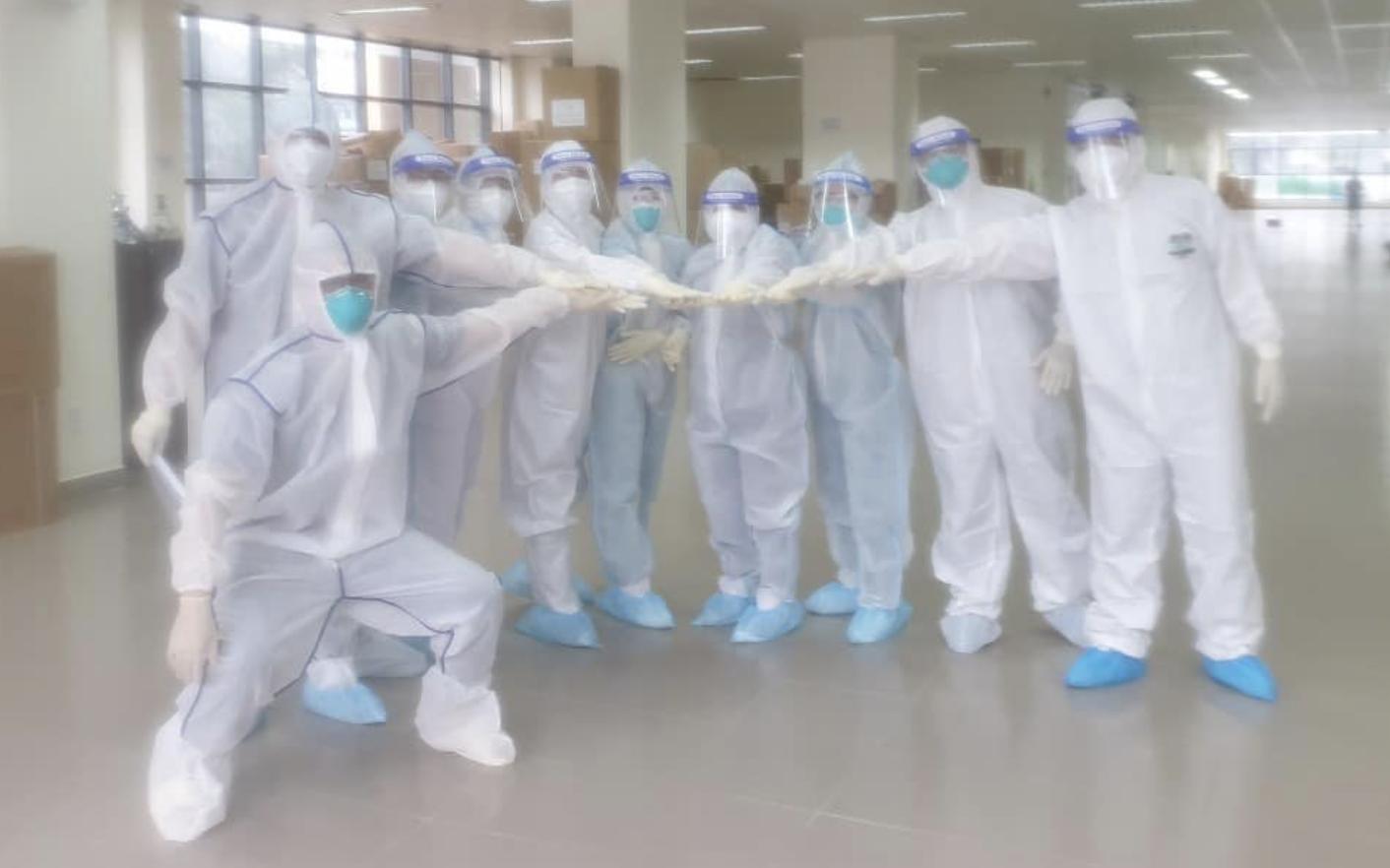1.252 bệnh nhân tại Bệnh viện Dã chiến điều trị COVID-19 số 2 đã xuất viện