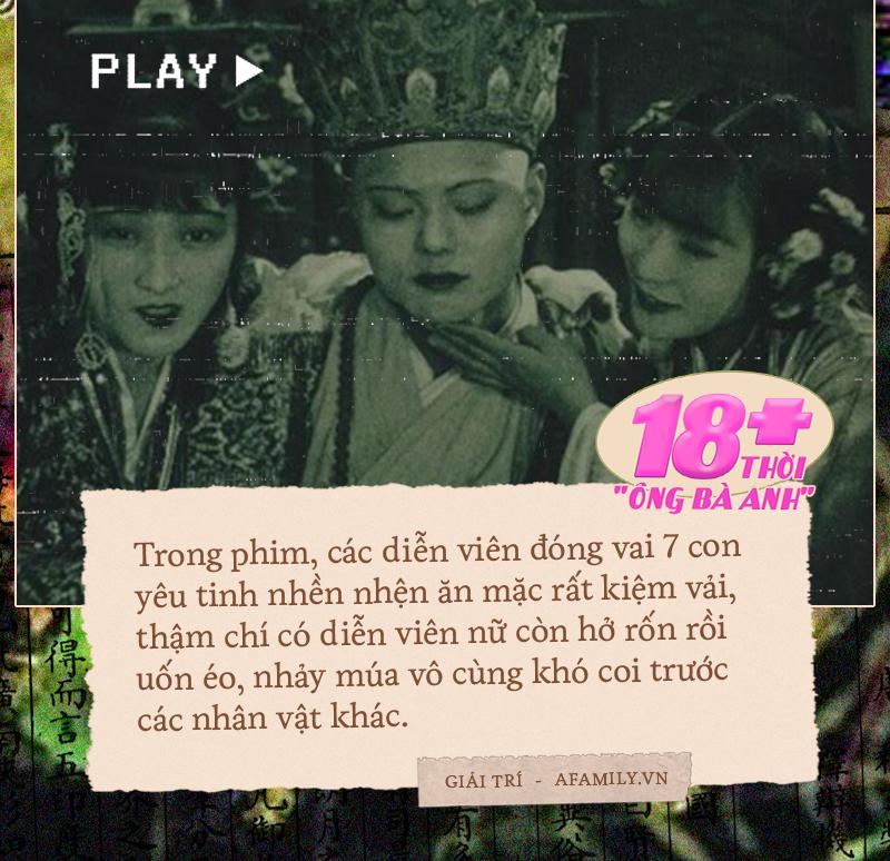 Tây Du Ký bị cấm vì chứa cảnh 18+: Mặc hở hang, uốn éo phản cảm đến mức chiếu 1 lần rồi cất kho suốt 94 năm  - Ảnh 3.