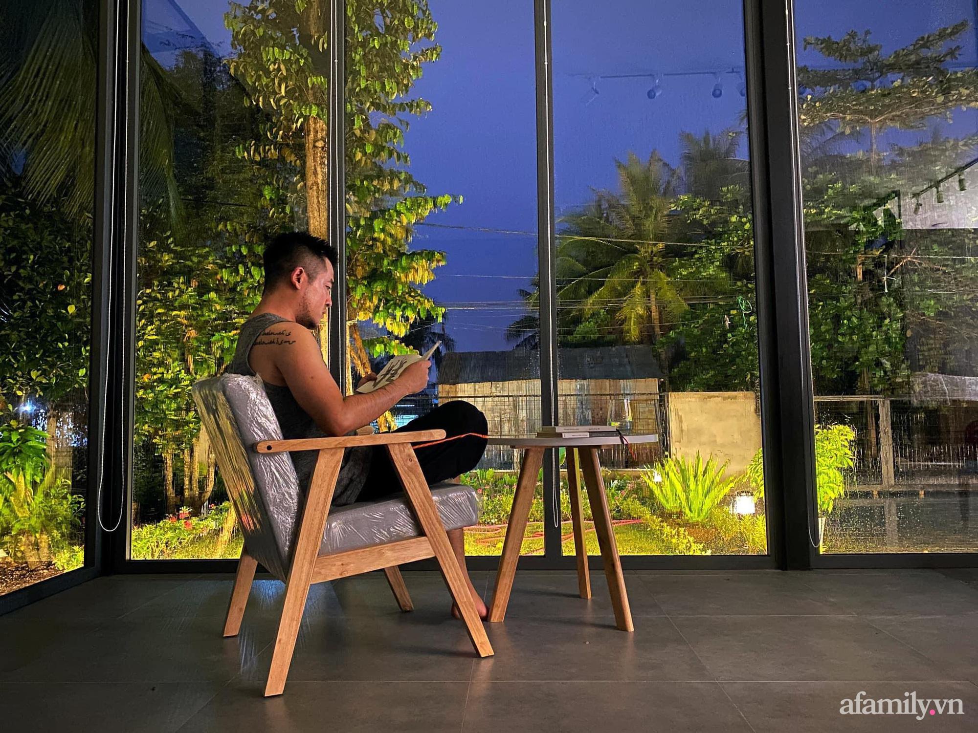 Sở hữu mảnh vườn thật chill, chàng trai trẻ Kiên Giang yên tâm nấu ăn, đọc sách ngắm cây những ngày giãn cách - Ảnh 12.