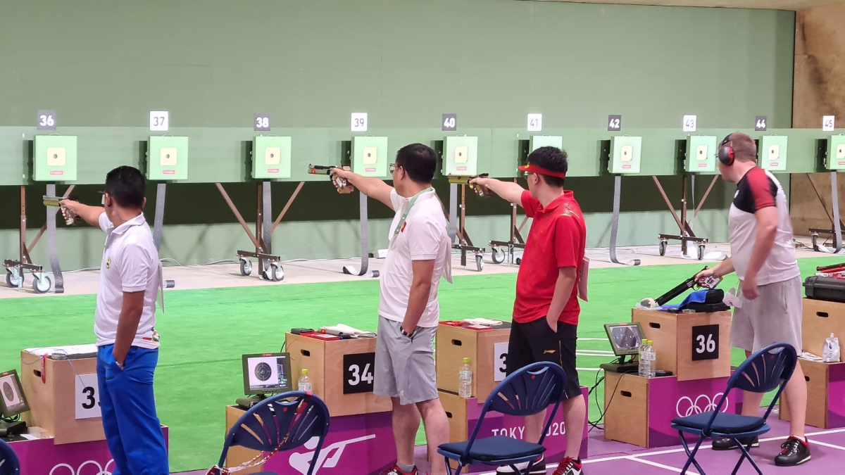 Xạ thủ Hoàng Xuân Vinh không bảo vệ được HCV Olympic - Ảnh 1.