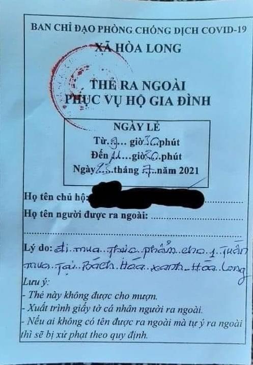 Lan truyền thông tin một xã ở TP.HCM chỉ phát phiếu đi chợ vào Bách Hóa Xanh: Lãnh đạo địa phương lên tiếng - Ảnh 2.