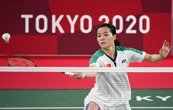 """Hot girl cầu lông Thuỳ Linh khiến tay vợt số 1 thế giới """"vã mồ hôi"""" ở Olympic Tokyo: Khởi đầu như mơ, nỗ lực đến cùng - Ảnh 1."""