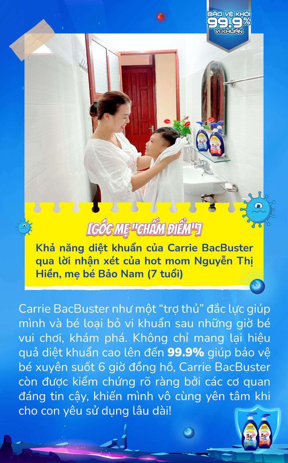 Cùng các mẹ tìm hiểu về loại sữa tắm giúp mẹ đánh bay vi khuẩn tốt, bé vui suốt ngày dài