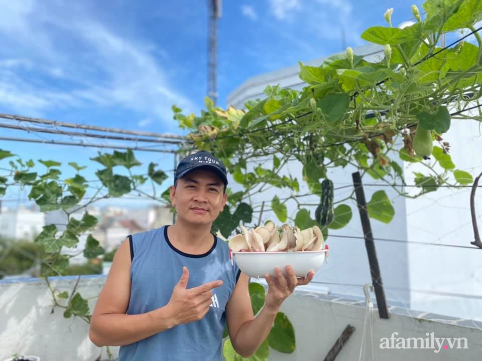 """Ở nhà giãn cách vì dịch nghe """"anh chồng đảm"""" Sài Gòn mách cách trồng nấm bào ngư xám cho năng suất khủng - Ảnh 2."""