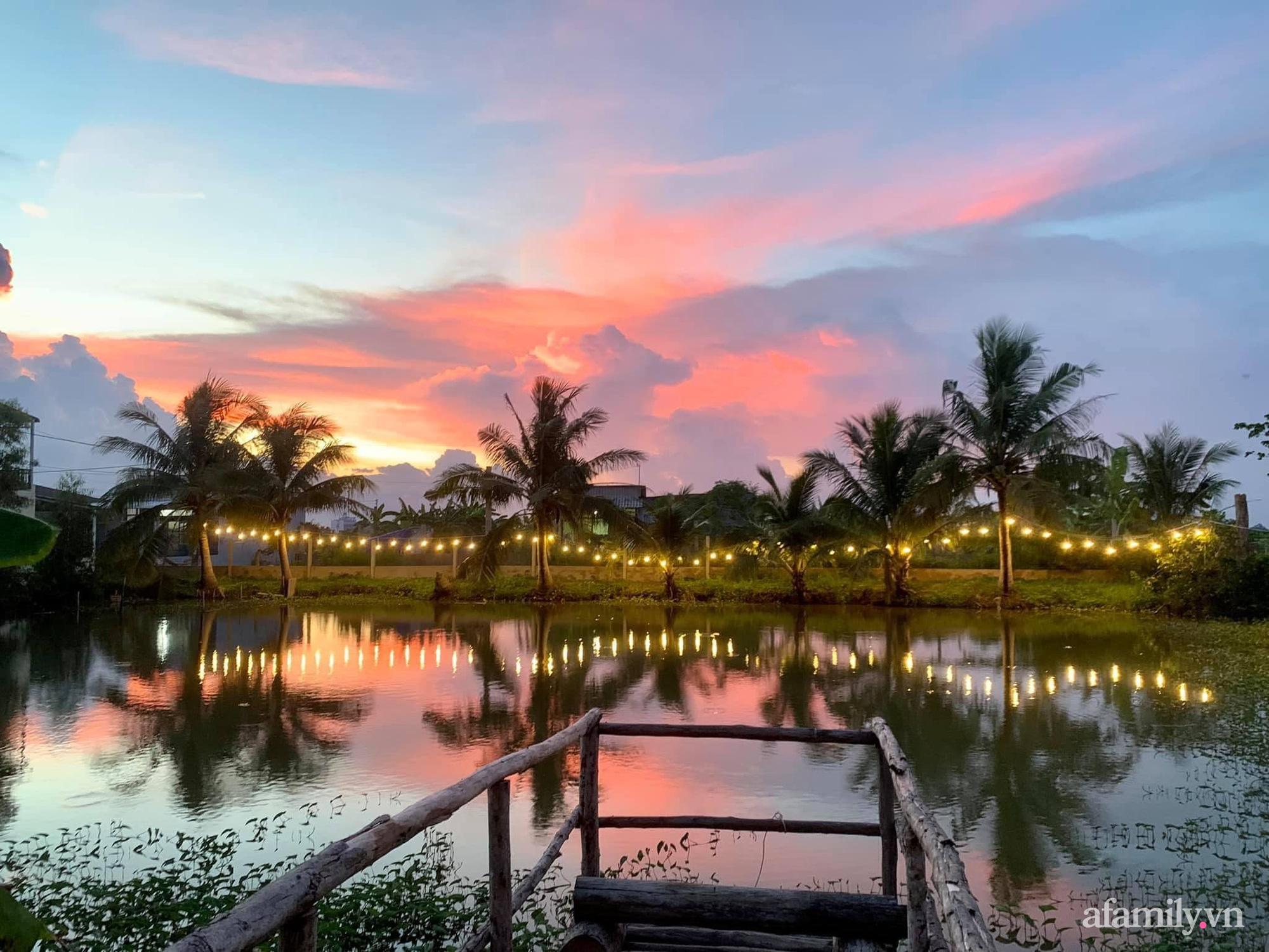 Sống an yên giữa dịch COVID nhờ ao cá vườn cây xanh mát tốt tươi ở Bạc Liêu - Ảnh 2.