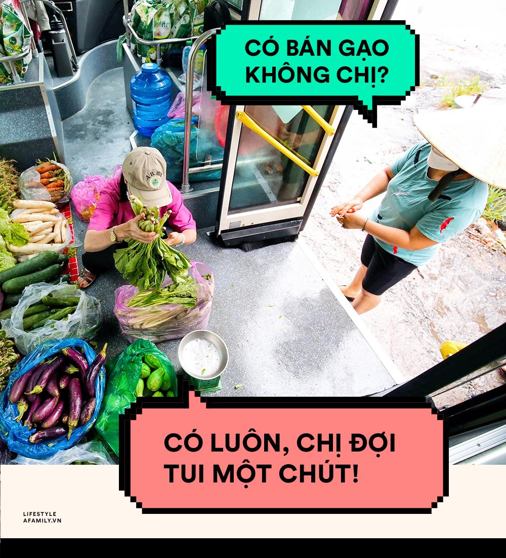 Người Sài Gòn lên xe buýt để... mua rau củ, thịt cá giá bình ổn, đảm bảo an toàn đủ các bước nhưng quan trọng chất lượng liệu ra sao? - Ảnh 10.