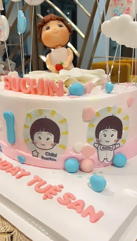 Con gái Cường Đô La và Đàm Thu Trang xinh xắn trong tiệc sinh nhật 1 tuổi, lần đầu hé lộ tên thật của bé - Ảnh 4.