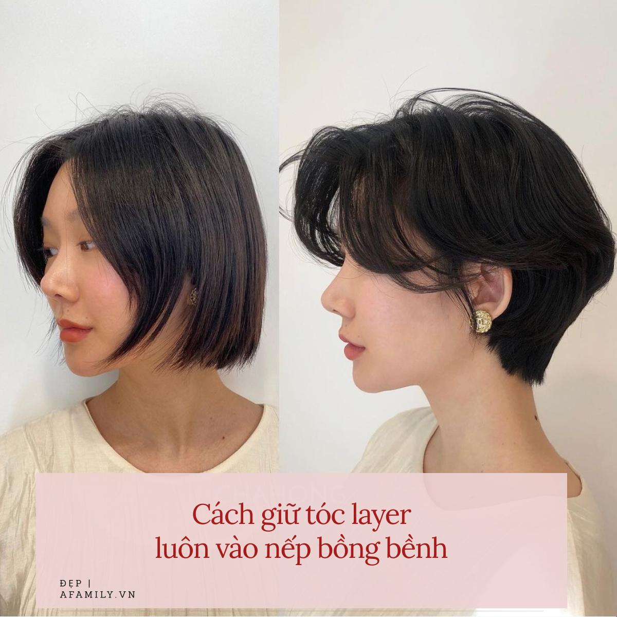 tóc layer đẹp