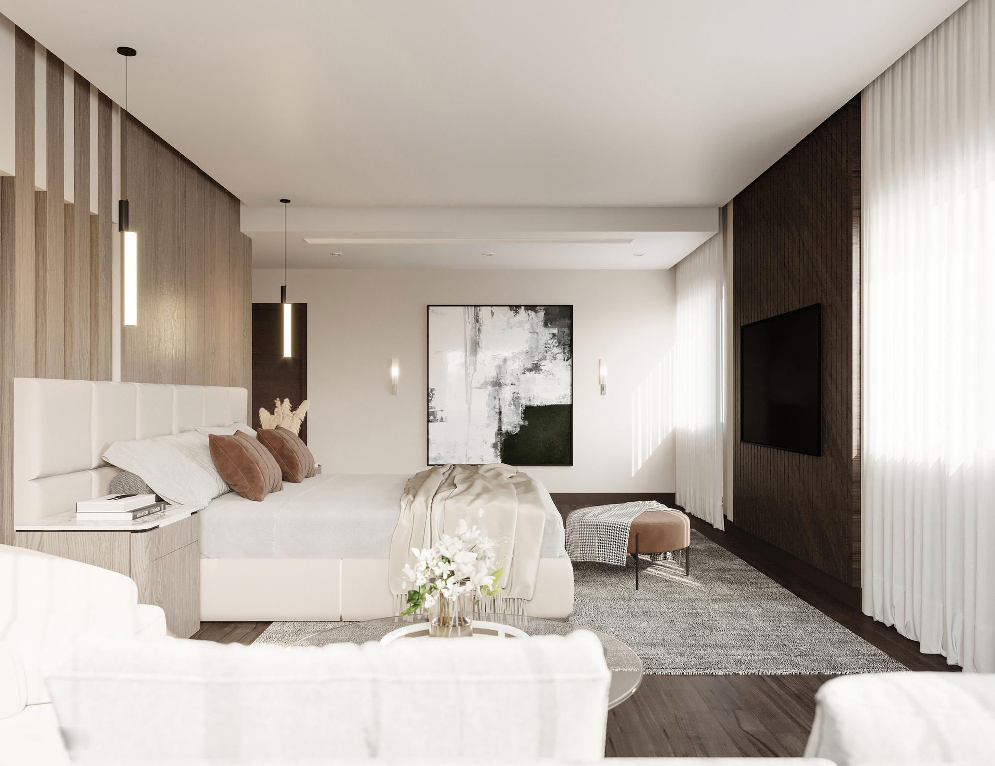 Tư vấn thiết kế nhà cấp 4 mái bằng 150m² chi phí 200 triệu - Ảnh 8.