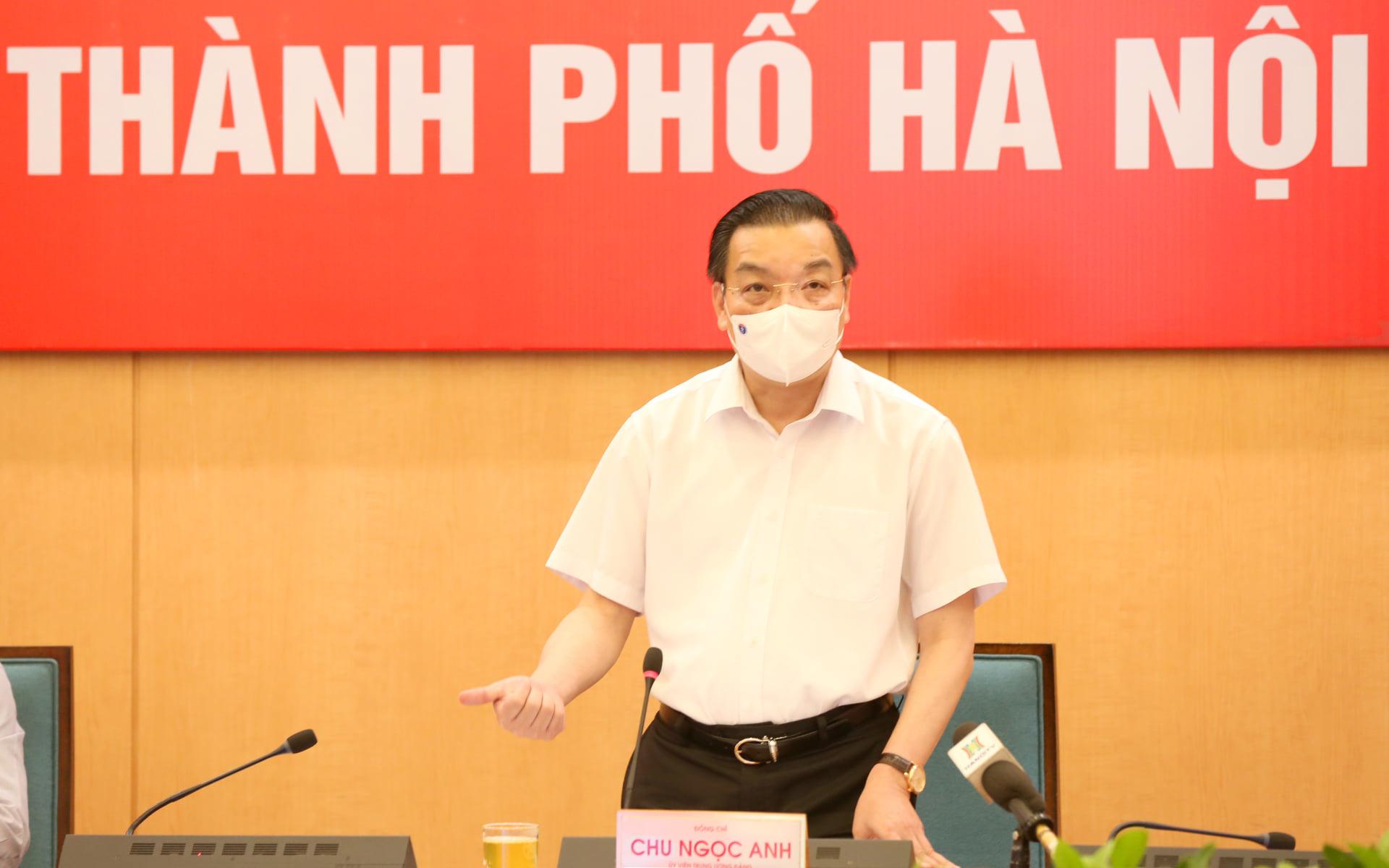 Chủ tịch Hà Nội: Áp dụng biện pháp mạnh hơn Chỉ thị 16 tại nơi có nguy cơ cao