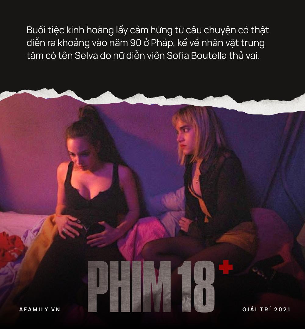 """Phim 18+ gây nóng mắt: Mô tả góc khuất những suy đồi của giới trẻ, có cả cảnh thác loạn tập thể khiến người xem """"mệt tim"""" - Ảnh 2."""