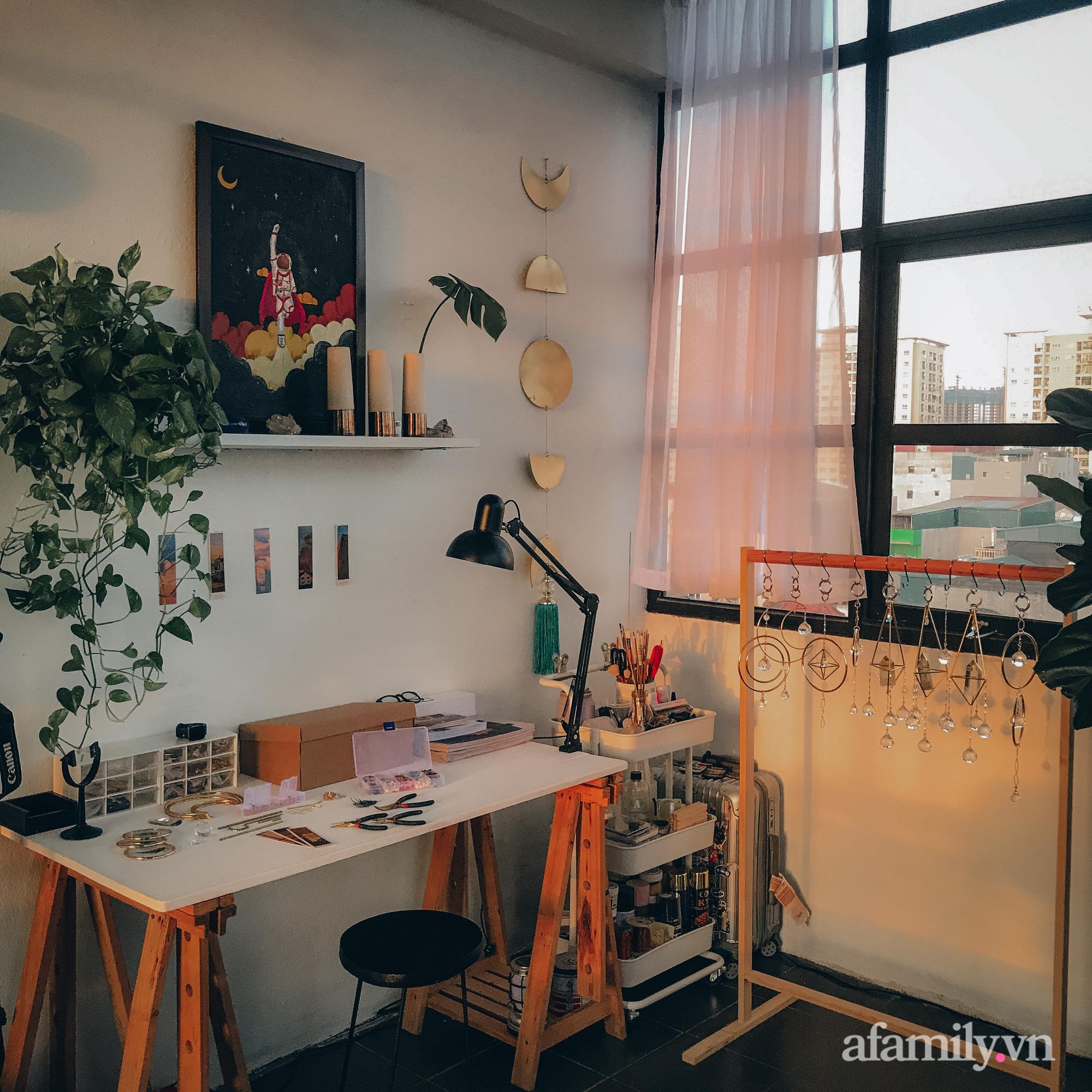 Với 5 triệu đồng để cải tạo, chàng trai Hà Nội có ngay phòng ốc siêu xịn sò như studio tạp chí - Ảnh 11.