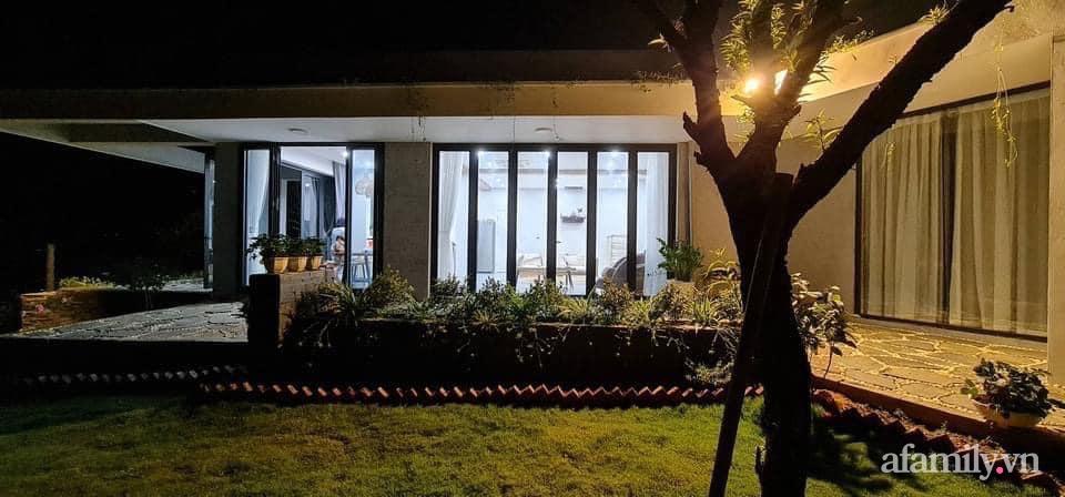 Căn nhà vườn trên núi đẹp an yên, tĩnh lặng với những xanh tươi đẹp đẽ ở ngoại thành Hà Nội - Ảnh 5.