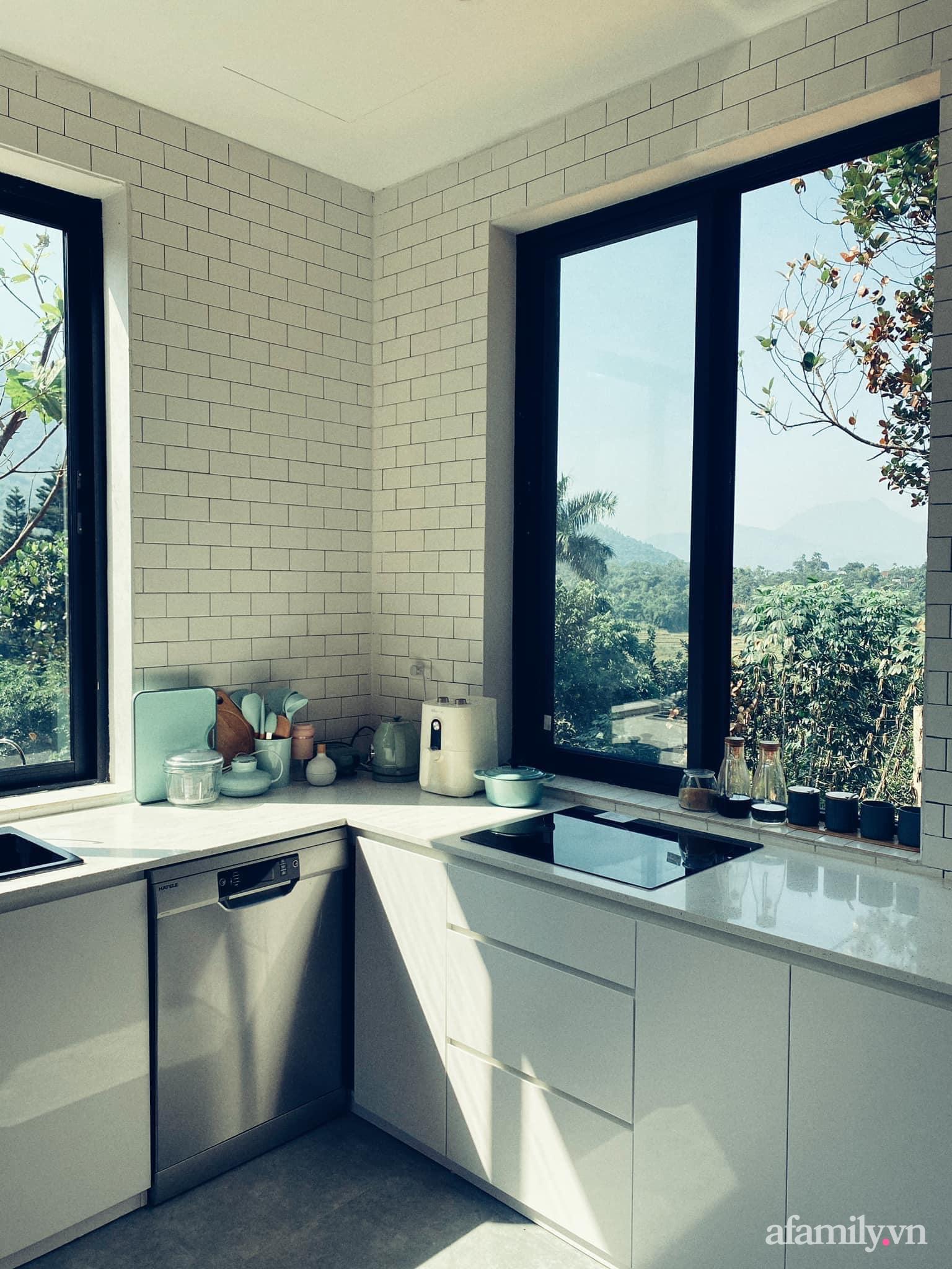Căn nhà vườn trên núi đẹp an yên, tĩnh lặng với những xanh tươi đẹp đẽ ở ngoại thành Hà Nội - Ảnh 13.